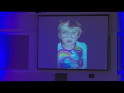 Faye Swetlik video tribute played at public memorial