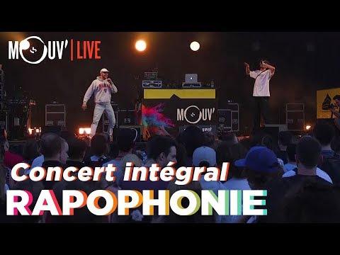 Youtube: RAPOPHONIE: le concert avec Arma Jackson, Bakari, Chilla, Le 77 et Sarahmée!