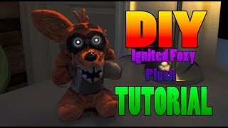 DIY Ignited Foxy Plush TUTORIAL!!! thumbnail