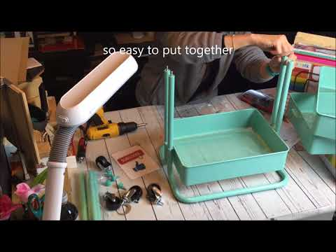 5da76bdc7990 How to put together the Recollections 3 tier cart from michaels ...