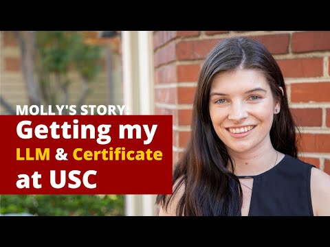 Molly's Story: Getting My LLM And Certificate In Media And Entertainment Law At USC