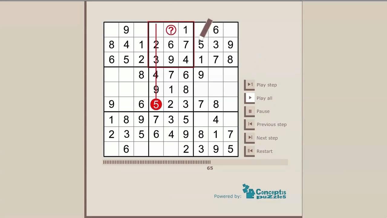 Sudoku Tutorial: How to solve a Sudoku logic puzzle - YouTube