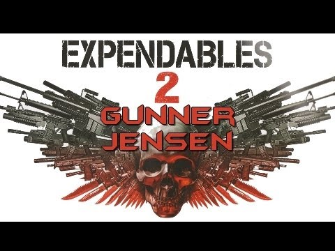 The Expendables 2 Gunner Jensen Diamond Select Figure Review!