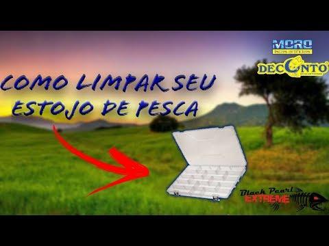 COMO LIMPAR ESTOJO DE PESCA--João Manfrin