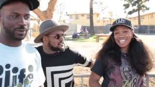 Kendrick Lamar x TDE Free Concert in the Nickerson Gardens Projects