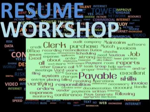 Finding Key Words In Job Postings for Your Resume