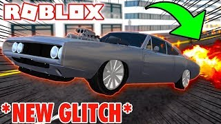 Fastest car in the game!? [dodge charger speed glitch] (vehicle simulator)