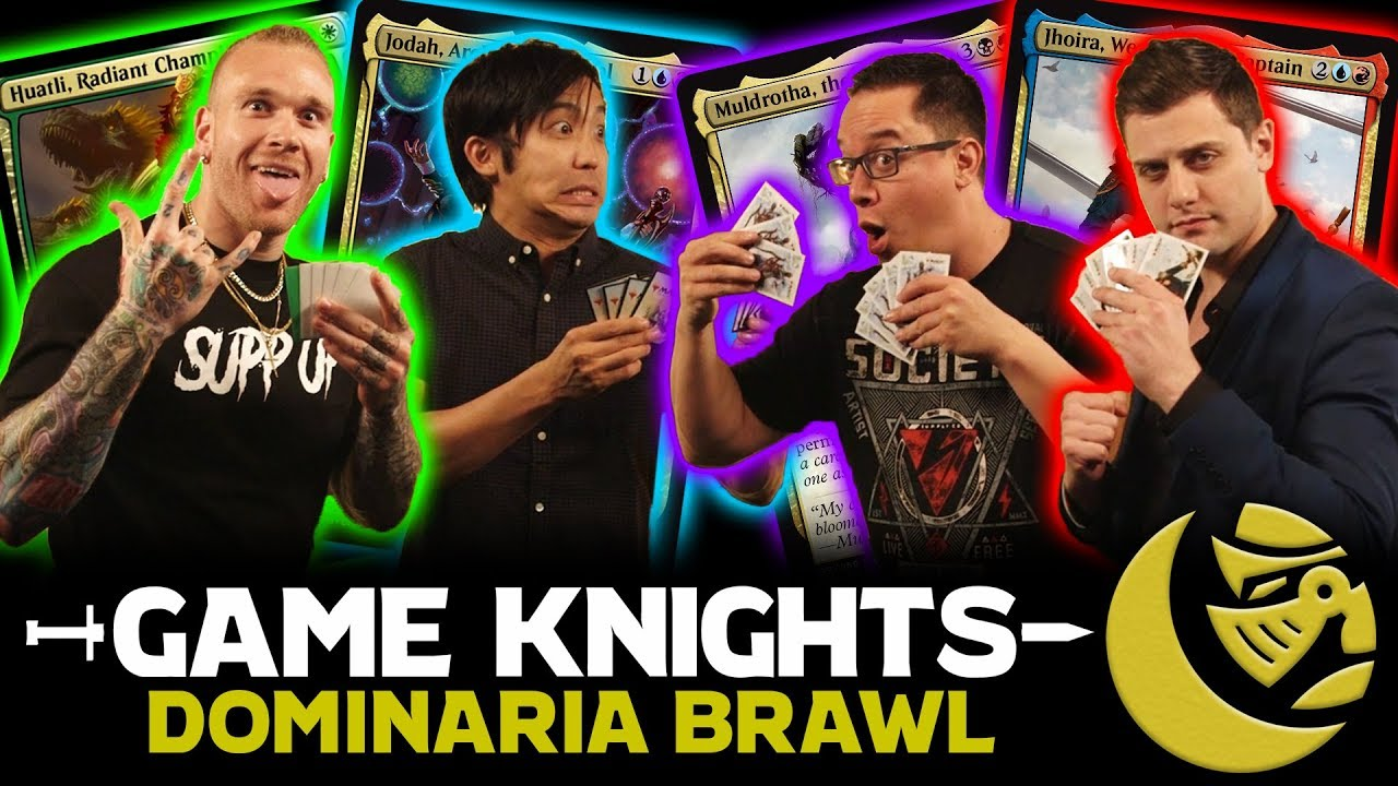 Dominaria Brawl W Nfl Player Cassius Marsh L Game Knights 17 L Magic The Gathering Gameplay