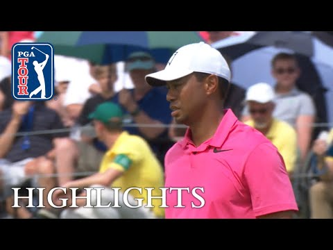 Tiger Woods' highlights  Round 3  the Memorial