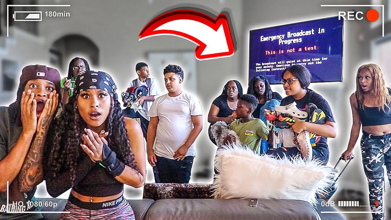 EPIC END OF THE WORLD PRANK ON LITTLE COUSINS!!!