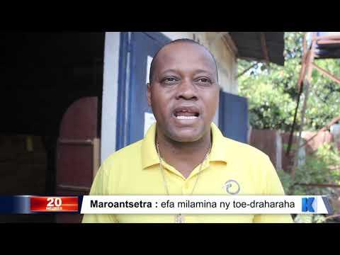 INFO K MADA: Maroantsetra DU 22 NOVEMBRE 2019 BY KOLO TV