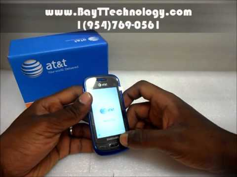 Unlocked Samsung Eternity II SGH-A597 Installing Battery and Sim Card