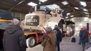 Le T100, le camion de légende de la Fondation Berliet en route pour Paris