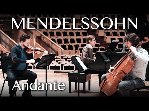 Mendelssohn - Andante con moto tranquillo from Piano Trio N1
