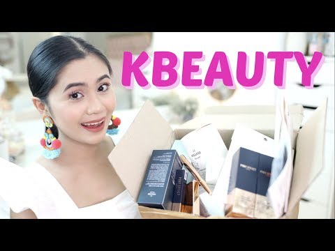 KBeauty Try-On Haul + GIVEAWAY | Anna Cay ♥