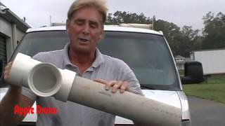 Rainwater Drainage Material, Fittngs, Pipe, PVC, Corrugated, How To, DIY, Understanding Drainage(How to, Learn about pipe materials. PVC, Corrugated, Fittings, What goes with waht and why. Apple Drains Drainage Contractors www.AppleDrains.com Watch ..., 2012-09-08T22:59:59.000Z)