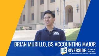 Brian Murillo, BS Accounting Major