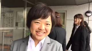 宮崎国際大学入学式2016