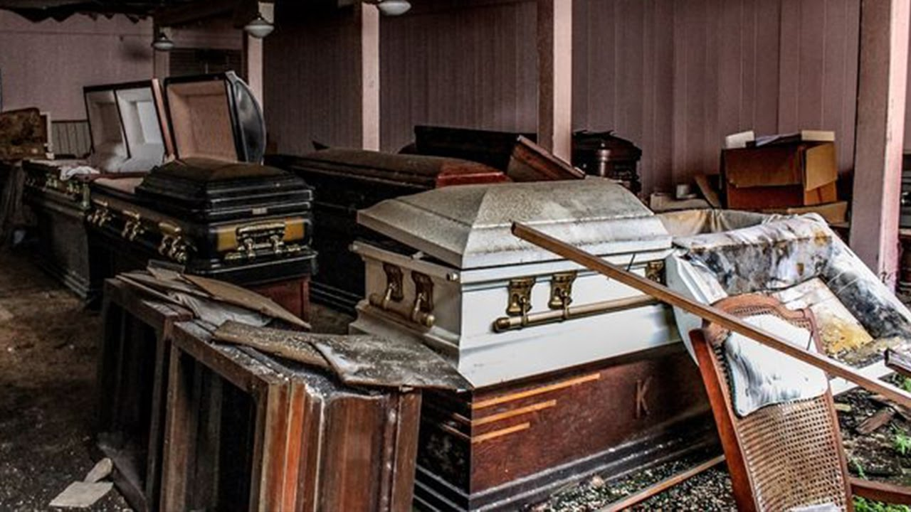 Man Makes Terrifying Discovery Inside Abandoned Funeral