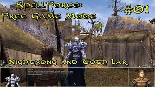SpellForce: Free Game Mode Episode 1 - Nightsong and Toth Lar