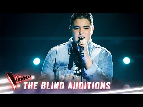 The Blind Auditions: Jordan Anthony Sings 'What About Us' | The Voice Australia 2019