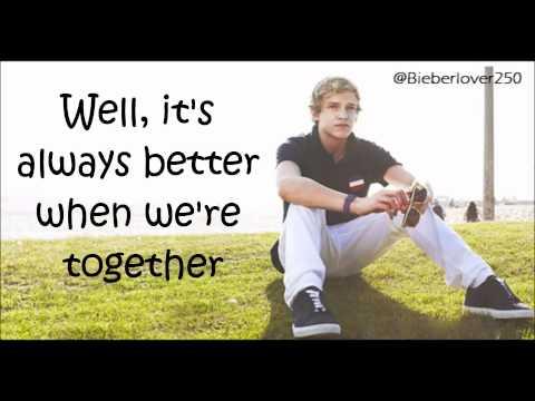 Cody Simpson Better Together Lyrics