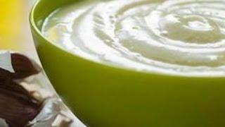 Сметанный соус с зеленью и чесноком | Sour cream sauce with herbs and garlic