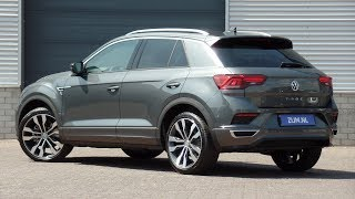 Volkswagen NEW T-roc R-line 2018 Indium Grey 19 inch Suzuka walk around & detail inside