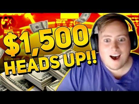 $1,500 HEADS UP MATCH!?!?  PokerStaples Stream Highlights June 17th 2017
