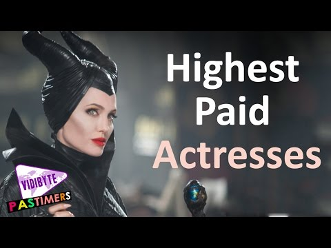 Top 10 Highest Paid Hollywood Actresses 2015-2016 || Pastimers