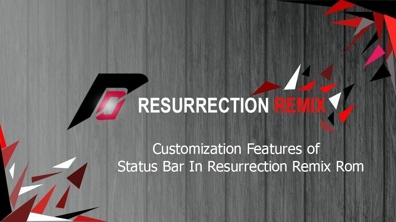 Customization Features of Status Bar In Resurrection Remix Rom [EXPLAINED] #Customize Android - YouTube