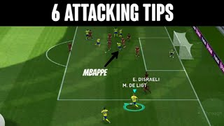 6 Attacking Tips You Must Know in PES 2020 Mobile