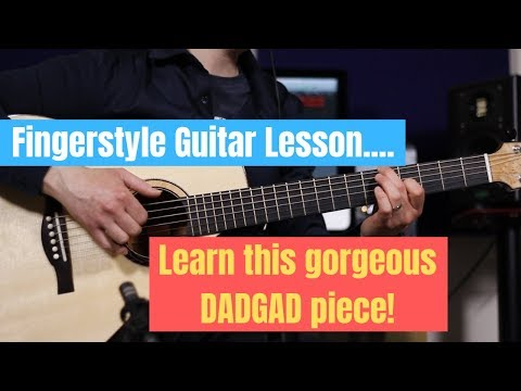 fingerstyle guitar lesson - learn to play this beautiful dadgad piece!