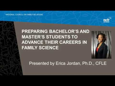 Preparing Bachelor's and Master's Students to Advance Their Careers in Family Science