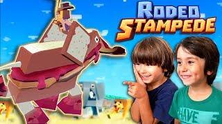 EL ELEFANTE BOCATA en RODEO STAMPEDE Juegos y aplicaciones para niños