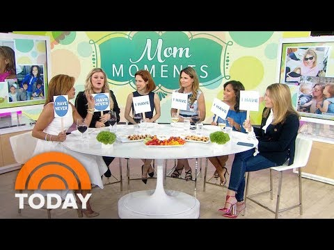 Kelly Clarkson, Ellie Kemper And TODAY Moms Play 'Never Have I Ever' | TODAY