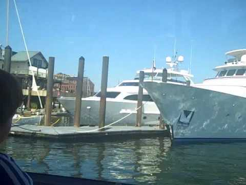 Benjamin goes to Spectacle Island - Boston Harbor 2009