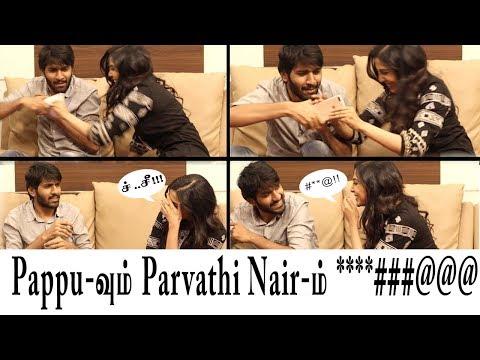 அப்ப்பா என்ன அடி😂 | Actress Parvathy Nair beats👊Vj Pappu | Roast Raja | Parvathy Nair | VJ PAPPU