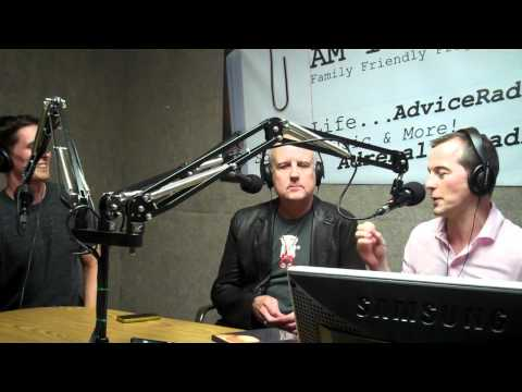 Blair Hayes, Guy Birtwhistle, and Andrew Fisher on