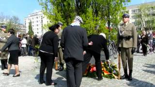 71 ST Anniversary of the Warsaw Ghetto Uprising 2014- 04-19