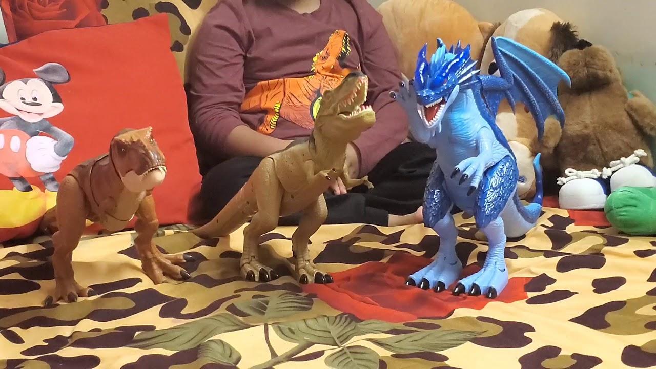 trex dinosaur adventure force  youtube