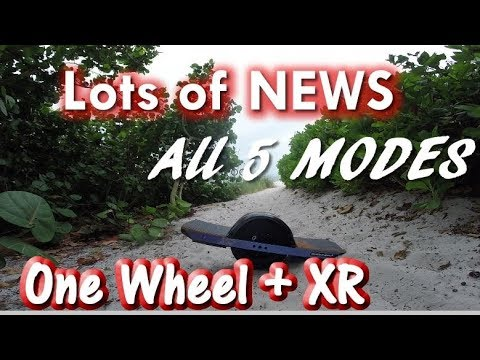 Some Big News! - One Wheel XR - Ride to the Beach! - Самые