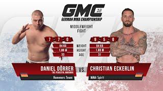 GMC Free Fight: Christian Eckerlin vs Daniel Dörrer | GMC 18
