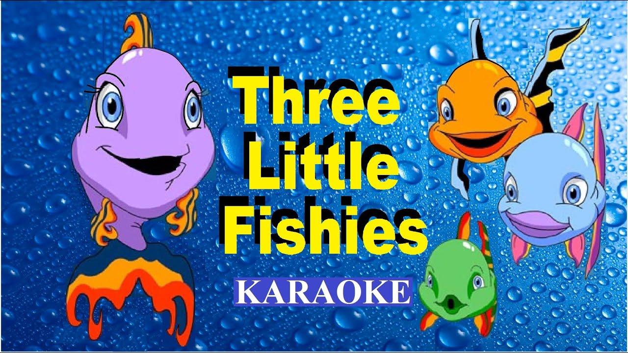 Three Little Fishies Karaoke Youtube