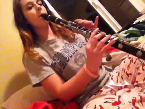 Air For Band by Frank Erickson played on the clarinet