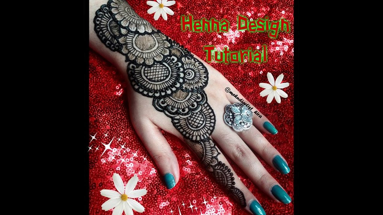Mehndi Designs For Hands Red : Diy henna designs how to apply easy simple latest mehndi