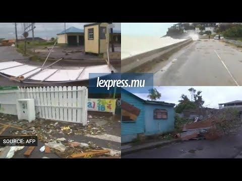 Ouragan Irma: l'île d'Antigua-et-Barbuda totalement dévasté
