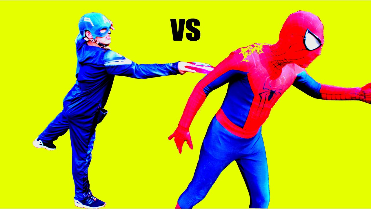 Download Spiderman vs Captain America   Final Match! Superhero Battle 2016