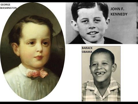 US Presidents when they were young!  PRESIDENT'S DAY TRIBUTE! GOD BLESS AMERICA!
