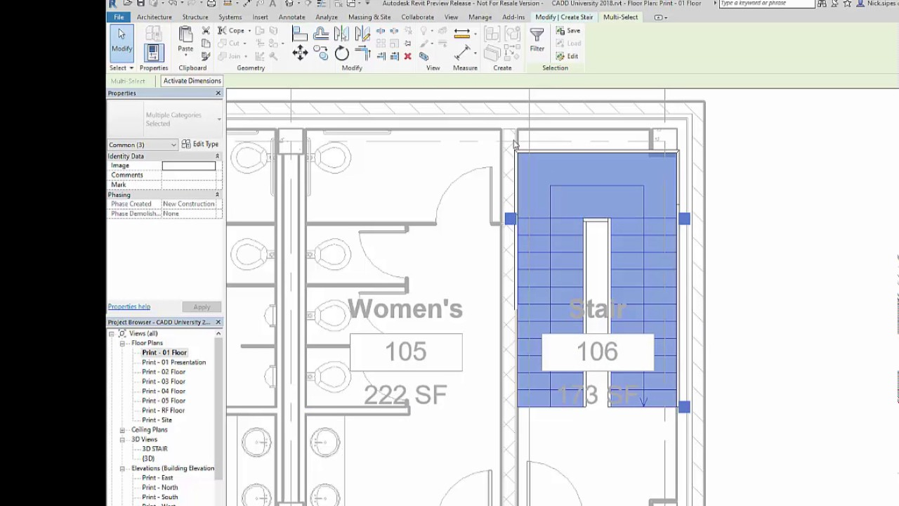 Revit New Features Stair Tool Enhancements Youtube